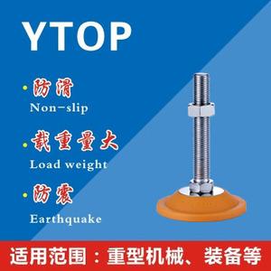 B全金属喇叭包(TPU)调节脚系列